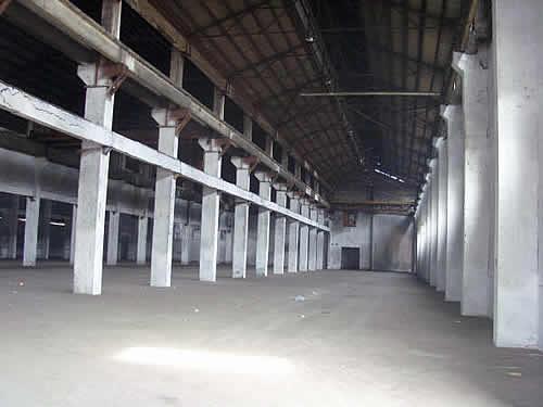宝山区泰和西路近富长路7000平方米单层可装行车标准厂房出租