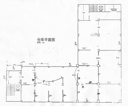 宝山大场镇南陈路1400平米/层共2层标准厂房出租/底层带行车