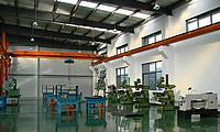 嘉定区马陆镇茵泰客工业园区全装修单层带行车标准厂房低价出租