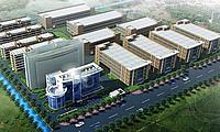 松江九亭高科技园内新业鸿都市园区9万平米可分割标准厂房仓库出租